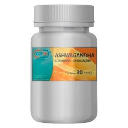 Ashwagandha c/ Damiana + Associações 30 Doses = 60 cápsulas